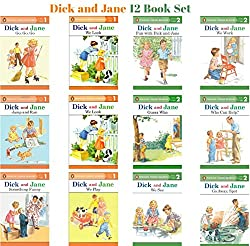 DIck and Jane 12 Book Set for Beginning Readers