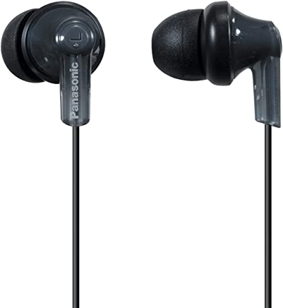 Panasonic ErgoFit In-Ear Earbud Headphones RP-HJE120-K...