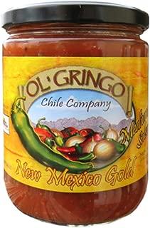 Ol' Gringo New Mexico Gold Salsa -Medium Heat- (16 oz Jar) Authentic Hatch Valley New Mexico Recipe