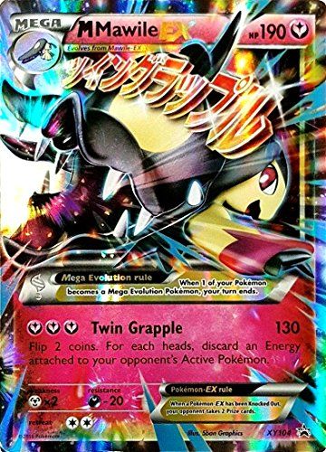 Pokemon Mega mMawile-EX XY104 Holo Rare XY Mega Mawile EX Collection Promo