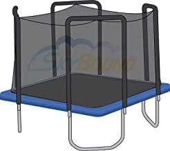 Power TrampolineTM 13' ft X 13' ft Square Trampoline Replacement Net for Skywalker (STSC13BC, STSC13BE) Using a 4 Arch Enclosure System Sold at Sam's Club