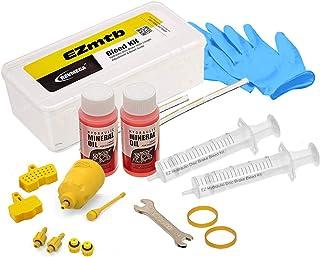 Revmega Brake Bleed Kit Tool for Shimano - Inc. 120ml Mineral Oil Fluid Works for MTB Road Brakes