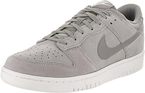 Nike Schuhe – Dunk Low Grau Grau Weiß Größe  43