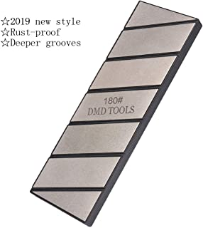 2019 New Style Extra Size Diamond Flattening Stone | Lapping Plate 180 Grit For Flattening Whetstone | Rust-proof  | Deeper grooves | Lightweight | non-slip SCOTTCHEN
