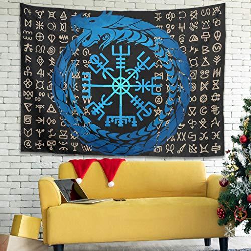 LIFOOST Tapiz hippie para pared, mantel de picnic para cortina, blanco, 230 x 150 cm