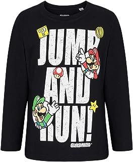ed19cdba9516c T-Shirt Manches Longues Enfant garçon Mario