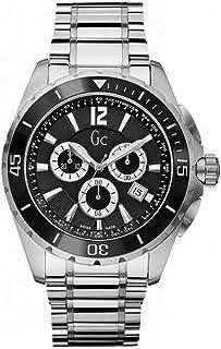 GUESS - Reloj Cronógrafo para Hombre de Cuarzo con Correa en Acero Inoxidable X76008G2S