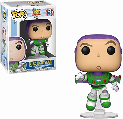 Funko- Figurines Pop Vinyl: Disney: Toy Story 4: Buzz Lightyear Pixar Collectible Figure, 37390, Multi