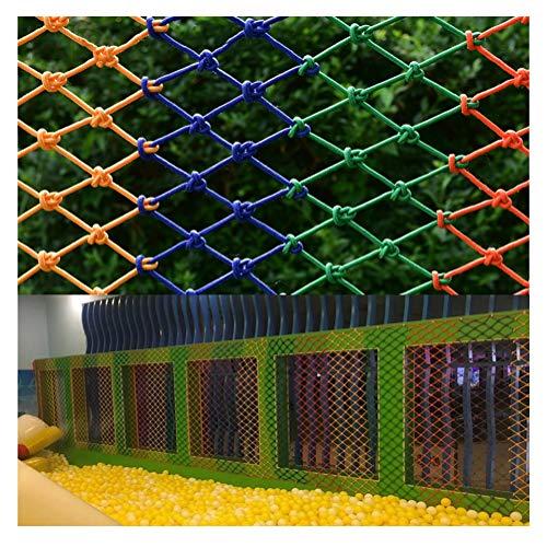 Nylon Cargo Net Klimmen, klimnet boom te klimmen Verrekening Playground Rope Mesh Trellis Swingset Speeltoestel Veiligheid Outdoor grote vrachtwagen Trailer Ladder Nets (Size : 1X5(3X16FT))