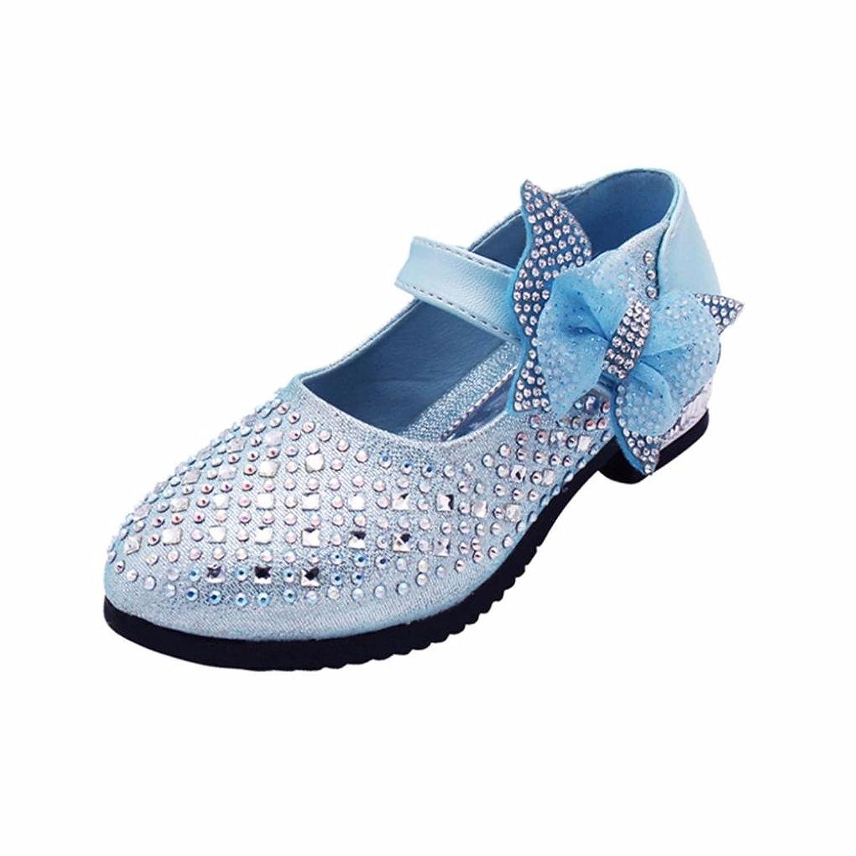 [Kukiwa] シングルシューズ、ハイヒール、パフォーマンスシューズ 踊り靴 ベビー靴 赤ちゃん靴 滑め防ぐ靴 室内履き シューズ女の子 ホームシューズ 可愛い子供靴 履き脱ぎやすい 誕生日プレゼント 出産の祝い