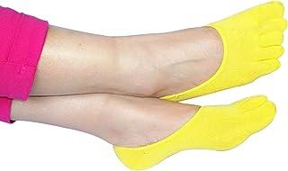 2Er Los Calcetines Pie Dedo Del Del De Los Calcetines Estilo Simple De Algodón De Los Hombres De Las Mujeres Calcetines Invisibles Cómodos Ocasionales Invisibles Respirables