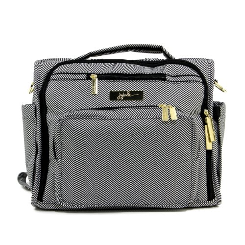 Product Image of the JuJuBe B.F.F Multi-Functional Convertible Diaper Backpack/Messenger Bag, Legacy...