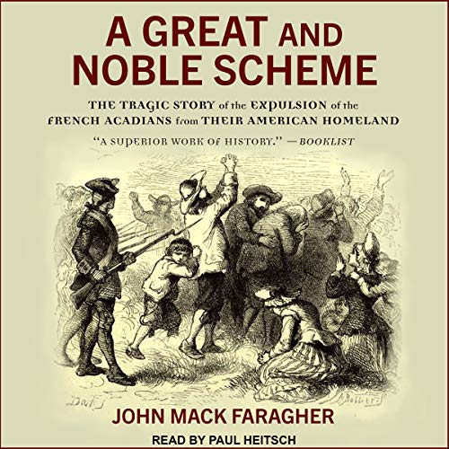 A Great and Noble Scheme audiobook cover art