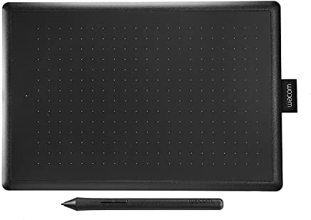 Wacom One by CTL-672/K0-CX Medium 8.5-inch x 5.3-inch Graphic Tablet (Red/Black)