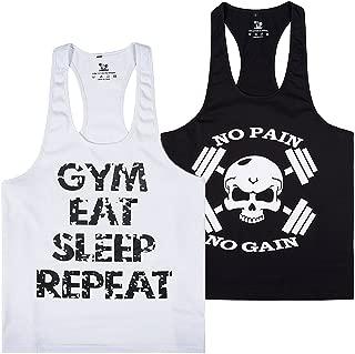 Pro Men's Gym Workout Bodybuilding Stringer Tank Top Shirts