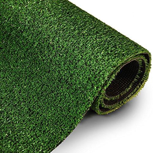 Rasenteppich Gesamthöhe 7 mm 1400 gr Gesamtgewicht Rasenteppich (100 cm x 200 cm)