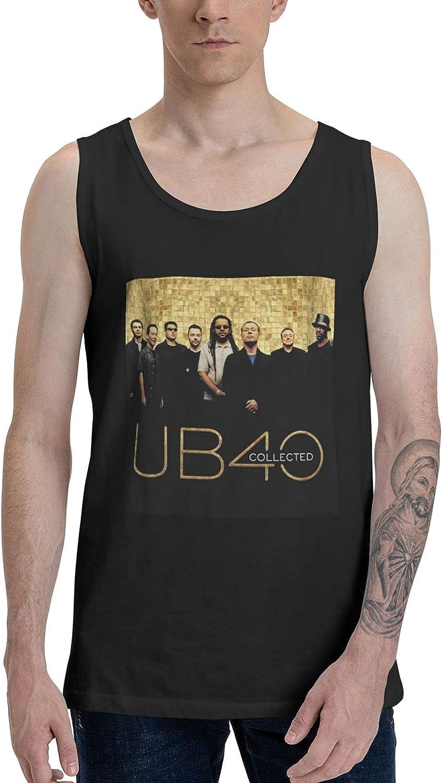 AlexBCody Ub40 Collected Tank Top Men Summer Sleeveless Clothes Fashion Vest
