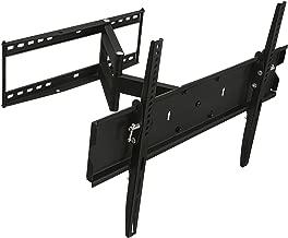 Mount-It! Swivel TV Wall Mount Full Motion for Flat Screens, 32 35 40 45 50 55 60 65 Inch LCD/LED/Plasma Screen TV, VESA 600x400mm, 110 Lb Weight Capacity, Black (MI-346L)