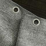 Umweltschutz Einfache Nachahmung Leinen Duschvorhang Trennvorhang Polyester Duschvorhang Mehltau wasserdichter starker Vorhang Punch (Color : Beige, Size : 220 * 200)