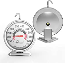 """Large 3"""" Dial Oven Thermometer - KT THERMO (2019 New Design) NSF-approved accurately easy-to-read extra large clearly disp..."""