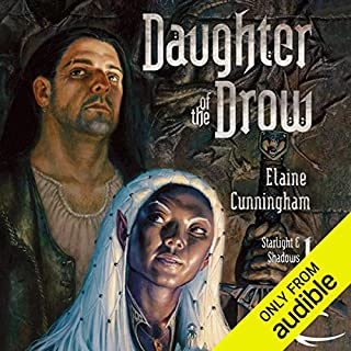 Daughter of the Drow audiobook cover art