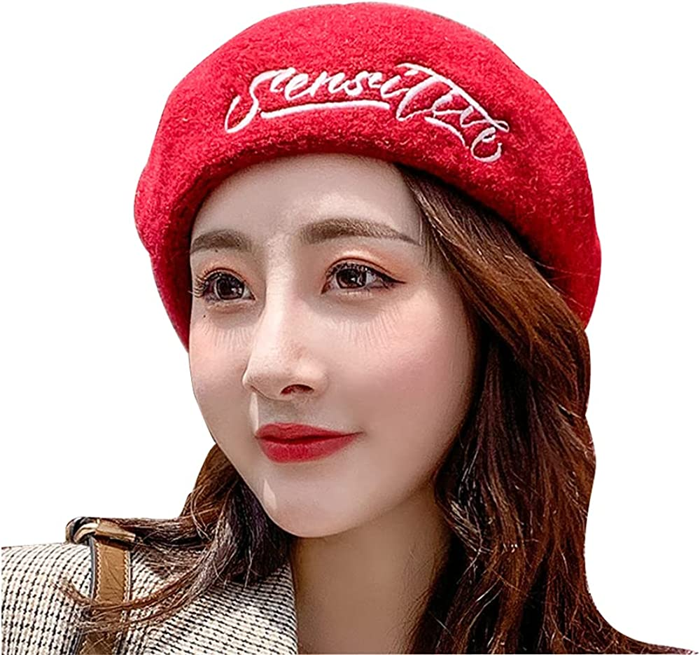 Ranking TOP6 Women Beret Winter Wool Beanie for NEW before selling ☆ Ladies Young Hat Girls