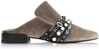 Luxury Fashion | 3.1 Phillip Lim Women SHP7T386VTLOL301 Green Suede Sandals | Spring-summer 20
