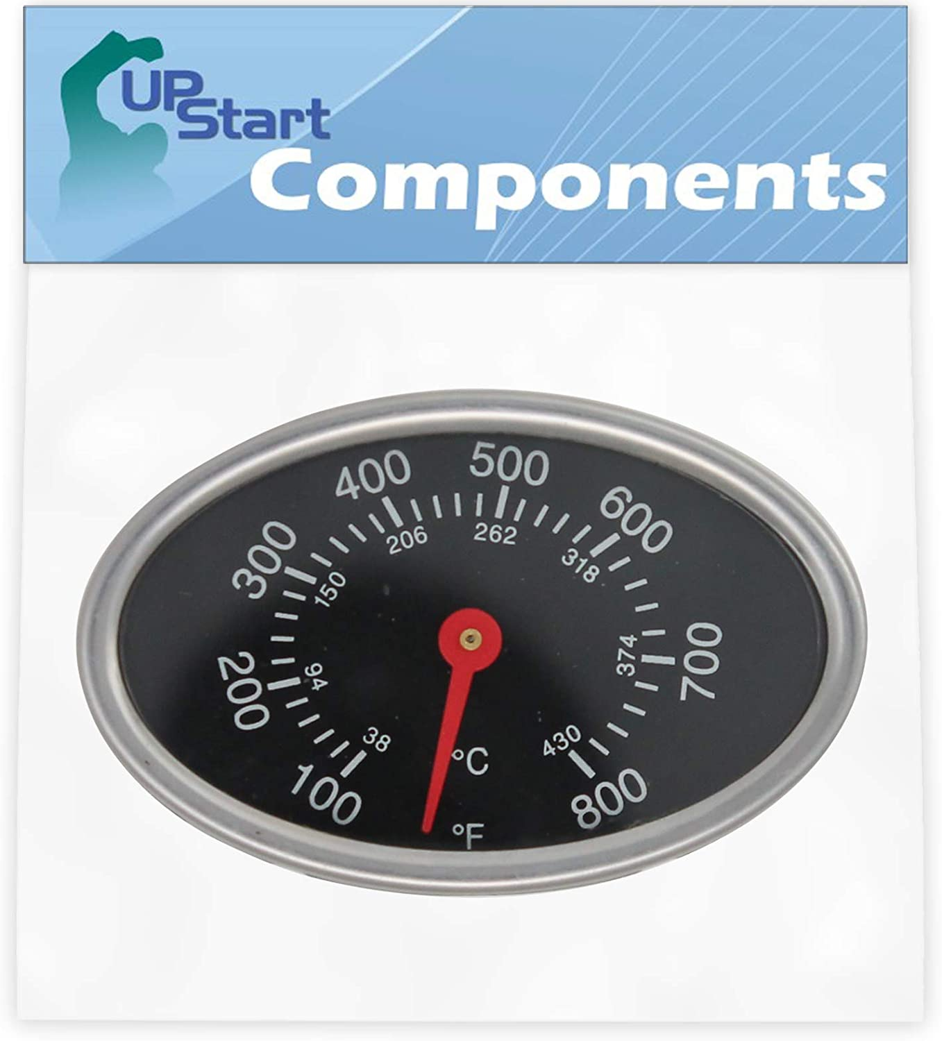Omaha Mall UpStart Components BBQ Grill Special sale item Replacem Thermometer Indicator Heat