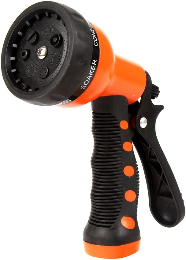 Garden Hose Nozzle Hand Sprayer Watering 7 Pressure Pattern High Factory outlet OFFicial mail order