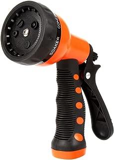 DAS GARDEN Garden Hose Nozzle Hand Sprayer 7 Pattern High Pressure Watering Spray Gun Nozzles