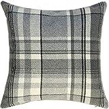 Nero 40x40cm McAlister Textiles Cuscini Arredi per casa in Velluto Cuscini Decorativi in Velluto Lucido Taglia