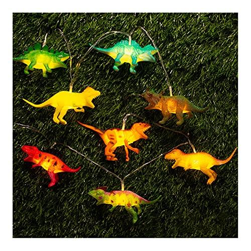 Taitan LED vinilo dinosaurio habitación de los niños luz decorativa cadena con pilas 1.2m luz para la decoración de jardín de infantes de la habitación
