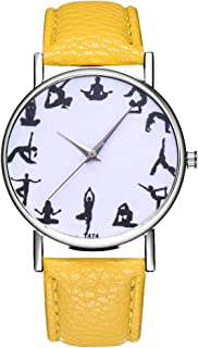 Women's Watch,Ladies Wrist Watches on Clearance,Women Watches,Roman Numerals Watch Women,Female Watch for Small Wrist (Yellow)