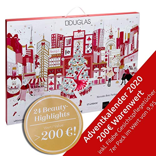 Douglas Beauty Adventskalender Believe in Angels Exklusiv Edition idealer Adventskalender Frauen, Wert 300 €, 24 Beauty Produkte, Advent Kalender