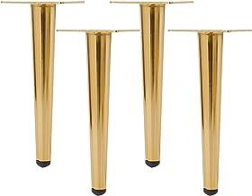 WaiMin Meubelpoten gemaakt van koudgewalst staal, tafelpoten, metalen bank, kastpoten metalen set voeten voor kasten Banke...