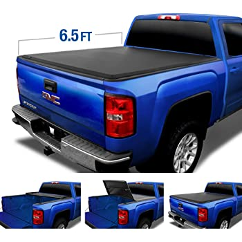 3500 HD Fits 6.5 Bed Lund 96893 Genesis Elite Roll Up Truck Bed Tonneau Cover for 2007-2018 Silverado /& Sierra 1500 2500 HD