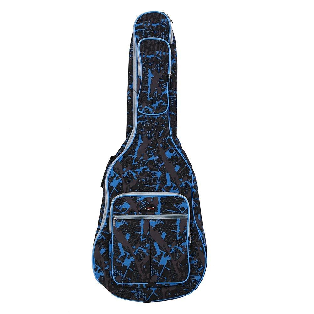 Ammoon 600d Funda para guitara, impermeable, tela Oxford, color ...