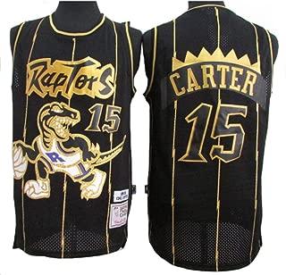 Camiseta de Camiseta de Pantalones Cortos de Baloncesto para Hombre y Unisex Tela Fresca y Transpirable NBA Toronto Raptors 15# Vince Carter Vintage All-Star Jersey