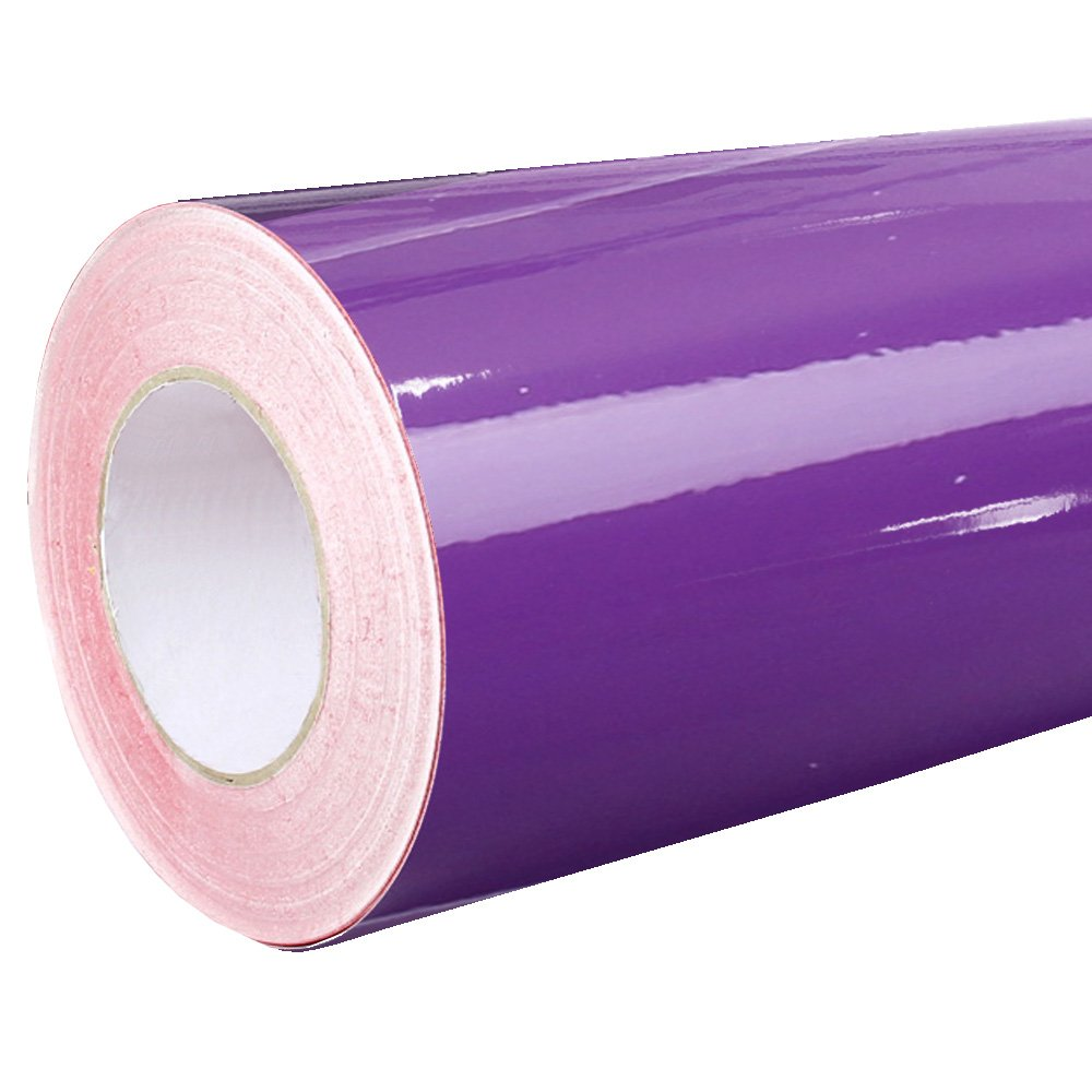 Rapid Teck ® - Lámina Adhesiva - DIN A4 Patrón (20cm X 30cm) - Lámina- Plotter-Autoadhesivo-También como Hoja de Muebles - Lámina Adhesiva - Lámina Decorativa - - - 040 Violeta, 20cm x 30cm (DIN A4): Amazon.es: Hogar