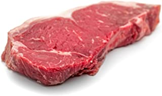 H.F.'s Outstanding Center Cut Black Angus Beef Strip Steak, 10 Ounce (Pack of 3)
