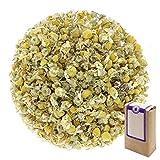 Núm. 1428: Té de hierbas orgánico 'Flores de manzanilla' - hojas sueltas ecológico - 100 g - GAIWAN GERMANY - manzanilla de la agricultura ecológica en Alemania