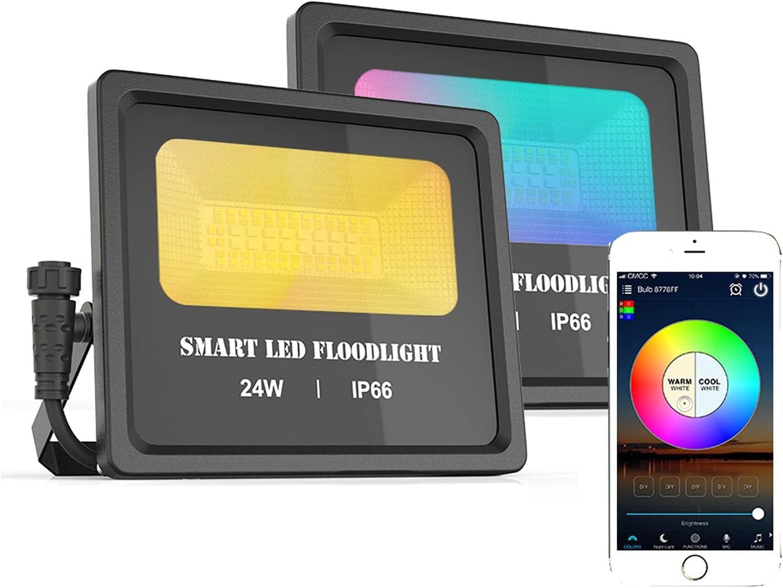 GFL RGB Luxury LED Flood Light Smart Inventory cleanup selling sale 2700 Floodlights Outdoor