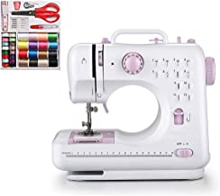 HODLEX Portable Sewing Machine With sewing kit Basic Easy to Use for Adults and Kids,12 Built-in Stitches, 2 Speeds Double...