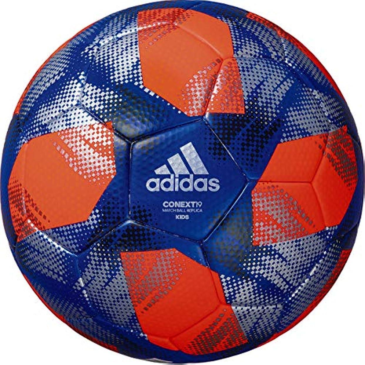 倒産負担合図adidas(アディダス) サッカーボール 小学生用 コネクト19 キッズ パワーオレンジ 4号球 AF400OR