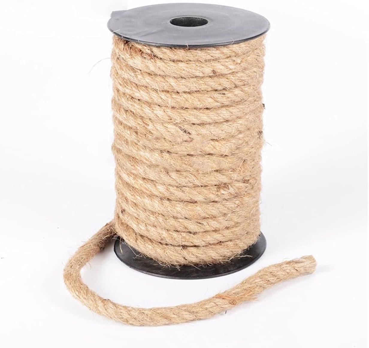 YNX MLKCL 10mm 1m-100m Jute Twine Wedding Craft List price Handmade DIY 2021 spring and summer new Hom