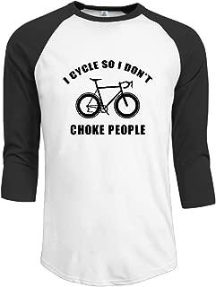 GORILLA CIRCLE Bike Lover Sports Men's Baseball Shirts Jersey Shirt