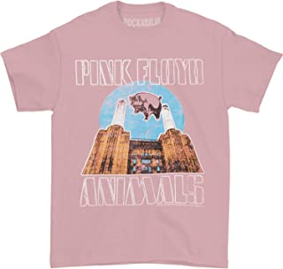 Pink Floyd Men's Animals T-Shirt Pink