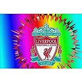 HYLLVC 1000 Piezas de Rompecabezas para Adultos Liverpool: Champions Logo Puzzle de 1000 Piezas para Adultos y niños Juego Familiar cooperativo desafiante y Divertido 75x50cm