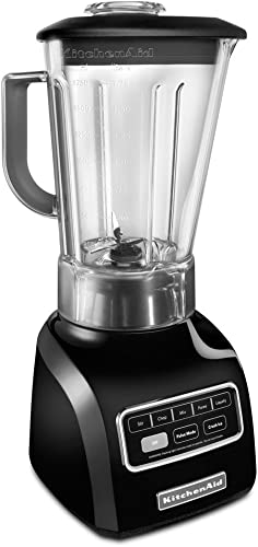 lowest KitchenAid 5-Speed blender ksb650ob 650 Series .9HP motor Stir, Chop, wholesale Mix, Puree, sale and Liquefy BPA-Free Shatter-Resistant Jar Onyx Black sale