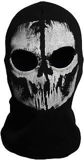 サバゲー スカル フェイス マスク ゴースト ドクロ バラクラバ 骸骨 目出し帽 スカル マスク付